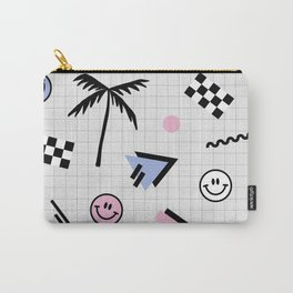 Smiley faces all day Carry-All Pouch