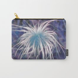 Flower (Western Pasque) Carry-All Pouch