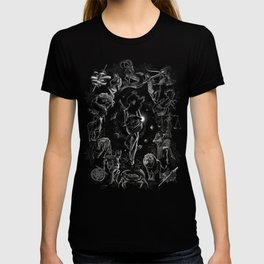 XXI. The World Tarot Card Illustration T-shirt