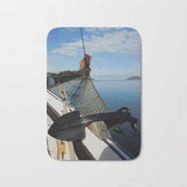 Sailing Through the Narrows Mull Scotland Bath Mat