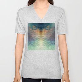 ABSTRACTION NO7 Unisex V-Neck