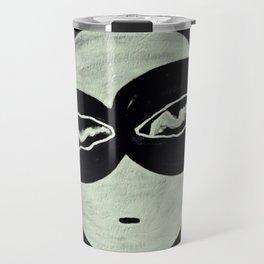ONO FACE BLACK BACKGROUND Travel Mug