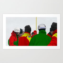 The Rescue IV Art Print