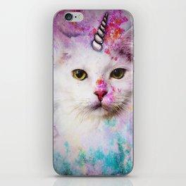 Unicorn Cat iPhone Skin