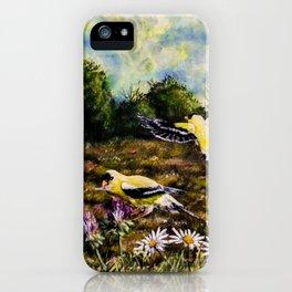 Songbird Haven iPhone Case