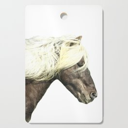 Horse Profile Cutting Board