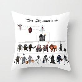 The Pthumerians Throw Pillow