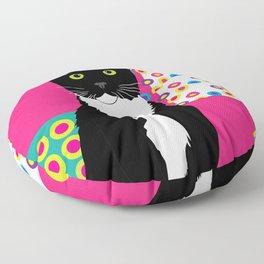 Bright cat Floor Pillow
