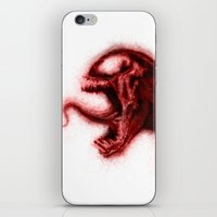 carnage iPhone & iPod Skins featuring Carnage by KitschyPopShop