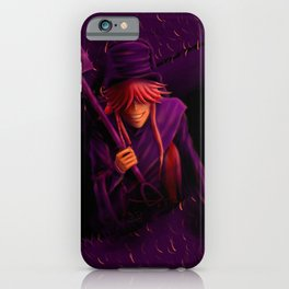 Undertaker Colour Challenge iPhone Case