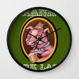 Frank's Dark Lager Wall Clock