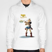popeye Hoodies featuring Popeye the Sailor Moon by bluthan