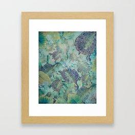 Watery Whimsy Framed Art Print