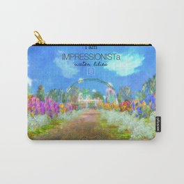 IMPRESSIONISTa Water Lilies Carry-All Pouch