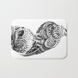 Red-Tail Skull Bath Mat