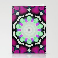 neon Stationery Cards featuring Neon by IowaShots
