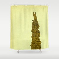 freedom Shower Curtains featuring - freedom - by Magdalla Del Fresto