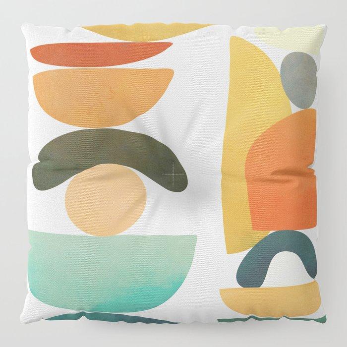 Modern Abstract Art 72 Floor Pillow