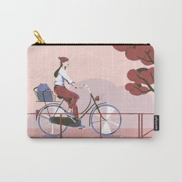Biking to work Carry-All Pouch