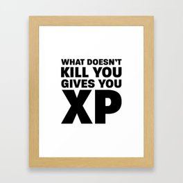 XP Framed Art Print