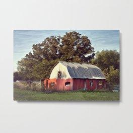 Dogwood Barn  Metal Print