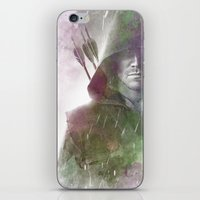 arrow iPhone & iPod Skins featuring Arrow by NKlein Design