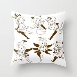 SUPERNATURAL SAM DEAN CASTIEL Throw Pillow