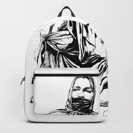 Silk Scarf Slave. Yury Fadeev© Backpack