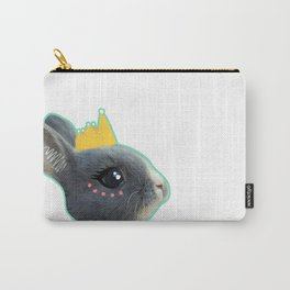 Baby Bunny Princess Pink and Blue Carry-All Pouch