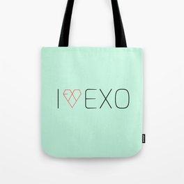 I LOVE EXO Tote Bag