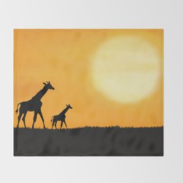 On the Horizon Throw Blanket