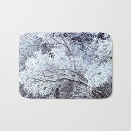 snow patterns Bath Mat