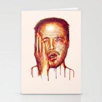 jesse pinkman Stationery Cards featuring Jesse Pinkman by beart24