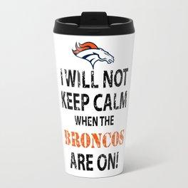 broncos Travel Mug