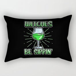 Funny Halloween Day of all Witches Witch Gift Rectangular Pillow