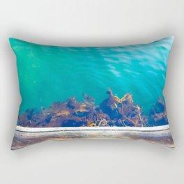 From The Deep Rectangular Pillow