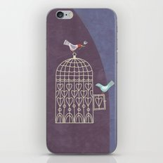 Leaving the Birdcage iPhone & iPod Skin