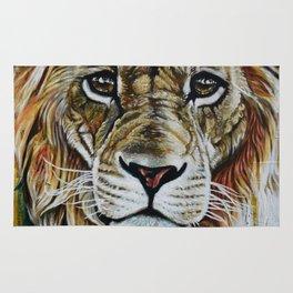 Beauty Lion Rug