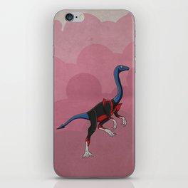 Nightcrawlimimus - Superhero Dinosaurs Series iPhone Skin