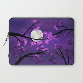 Under the sakura trees Laptop Sleeve