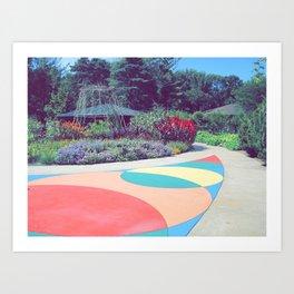 Dow Gardens Art Print