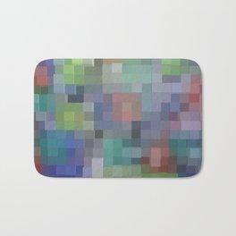 Abstract pixel pattern Bath Mat