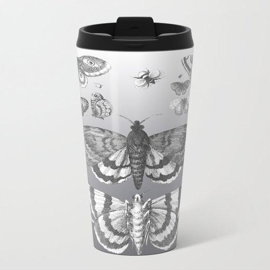 A Lepidopterist delight Metal Travel Mug