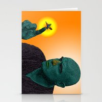apocalypse now Stationery Cards featuring Apocalypse Now Marlon Brando by CultureCloth