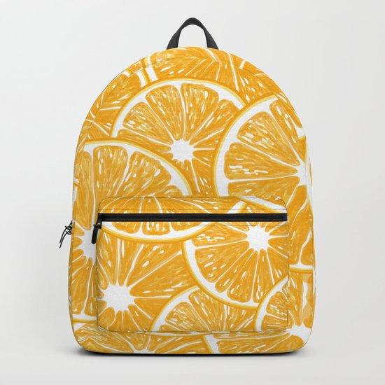 Orange slices pattern design Backpack