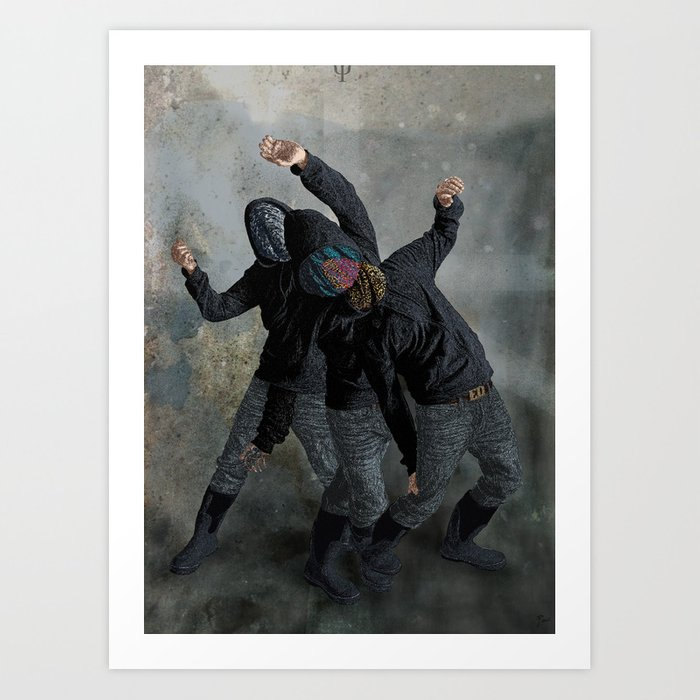 String Theory: Collapsing Wavefunction, Tenth Tangible Art Print