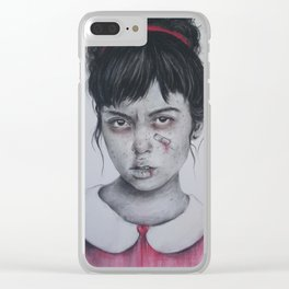Princess Issues Clear iPhone Case