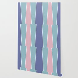 Cotton Candy Color Block Wallpaper