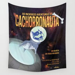 Cachorronauta Wall Tapestry
