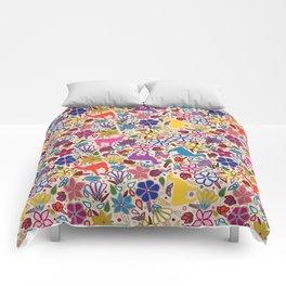 Peruvian Llamas Comforters